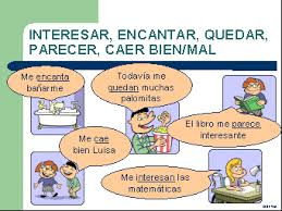 Gustar and other similar verbs in Spanish